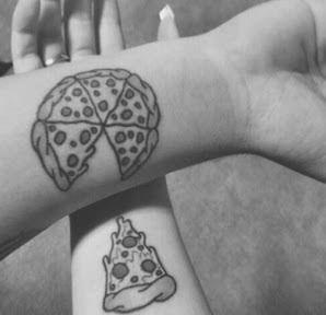 Resultado de imagem para tatuagem amizade Lua Sol e estrela