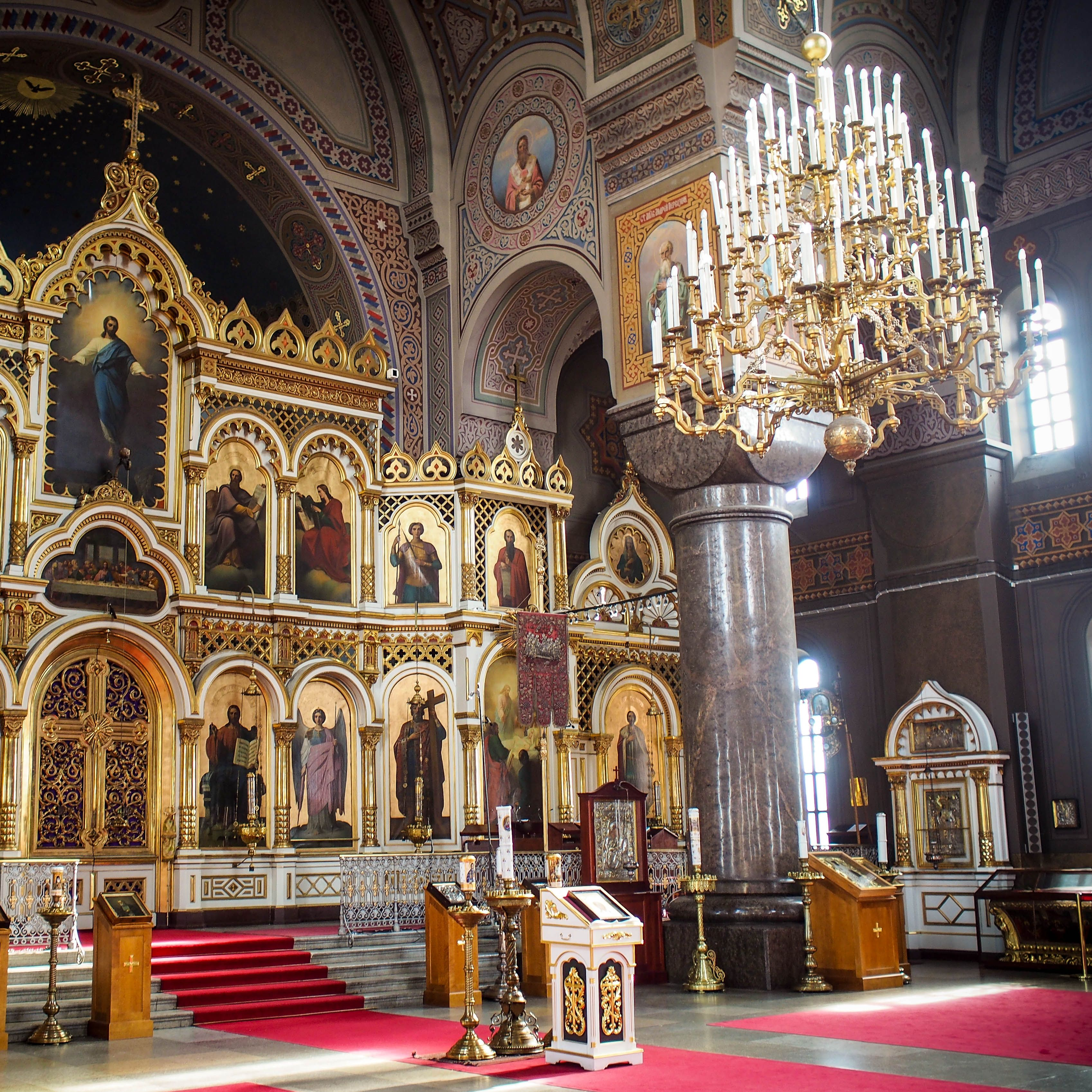 Interior Of Uspenski #cathedral In #helsinki #