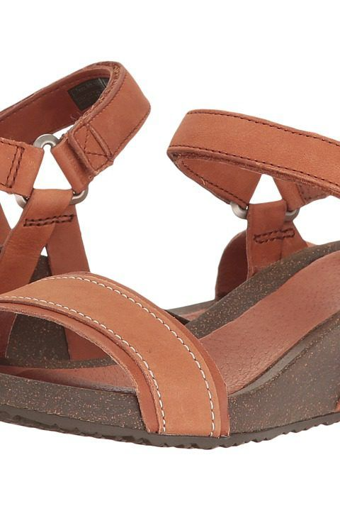 Teva YSIDRO STITCH WEDGE COGNAC Women