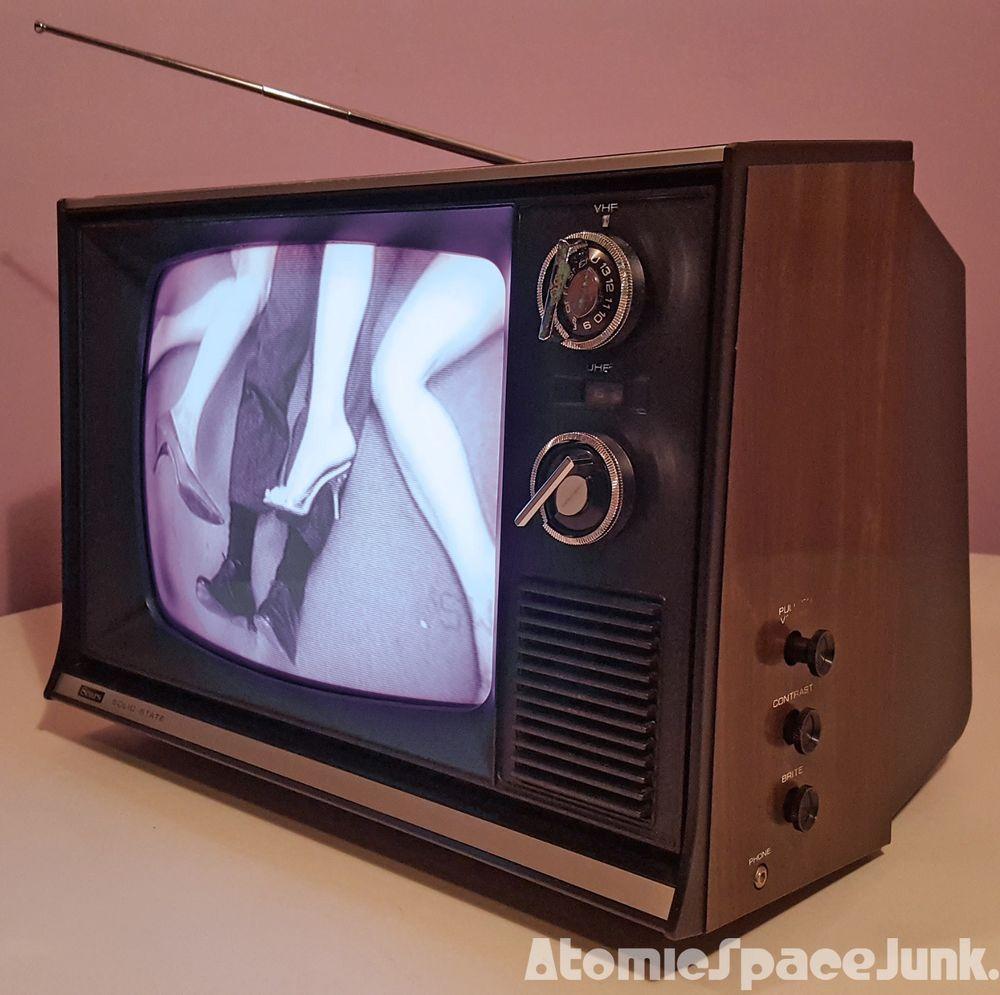 1975 Sears vintage television Vintage television