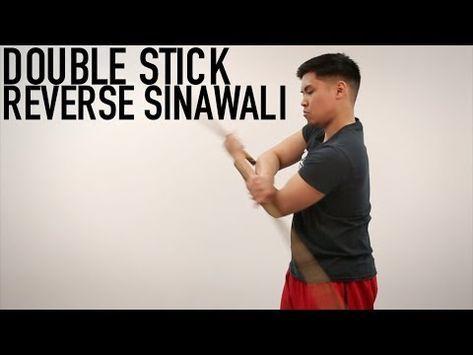 Arnis single and double sinawali