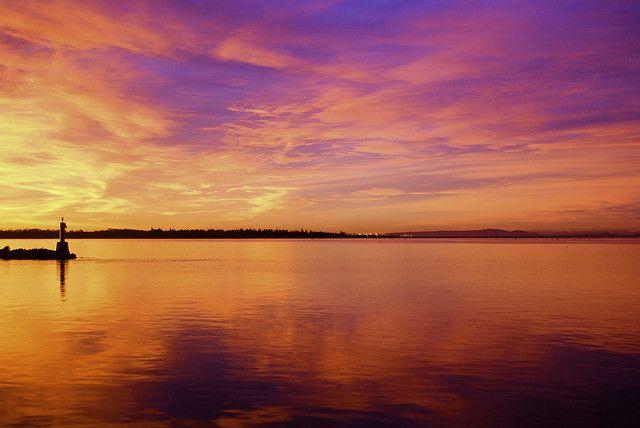 Richmond Sunrise. This morning by Erich J. Harvey, via Flickr