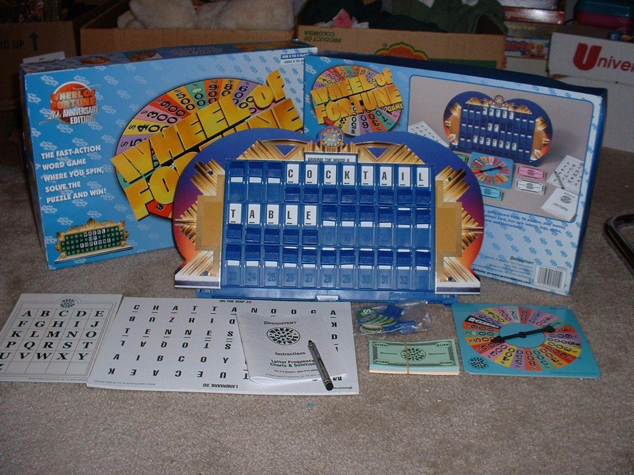 Wheel of Fortune Image BoardGameGeek Wheel of