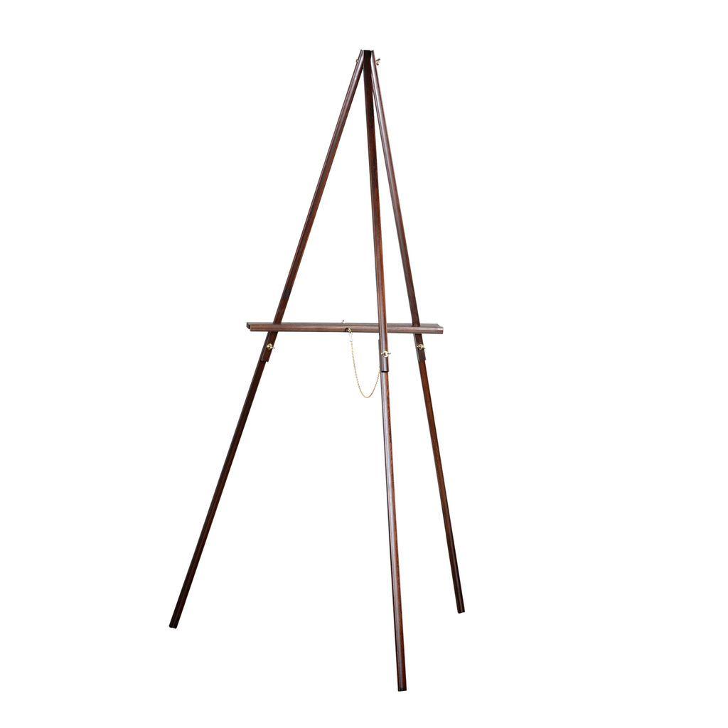 Vintage Brown Floor Easel By Artist S Loft Floor Easel