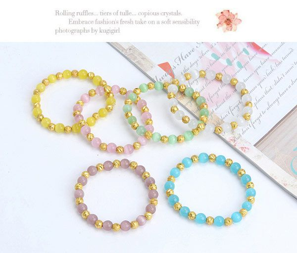 Parsimonious Purple Beads Decorated Simple Design Alloy Others ,Others