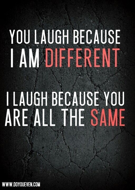 I Am Different Quotes Uploaded To Pinterest Hearts Inspirational