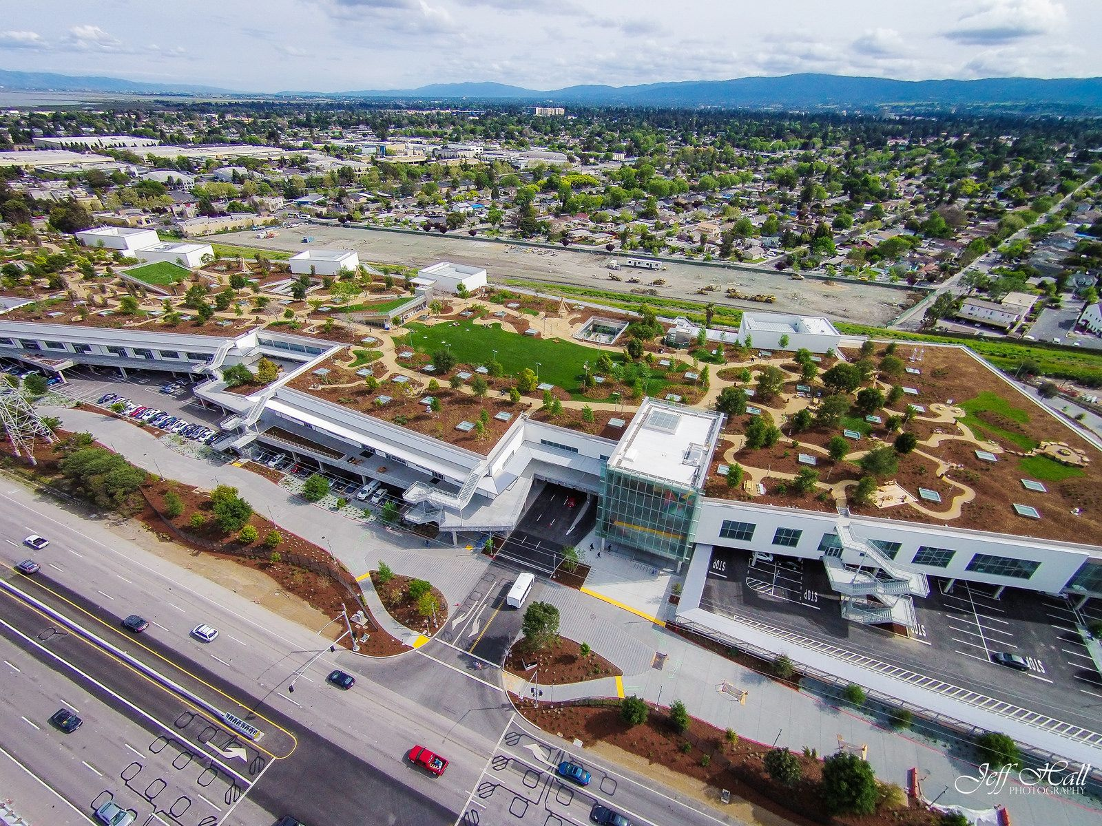 Facebook Headquarters, Menlo Park, California, United States - Frank Owen Gehry