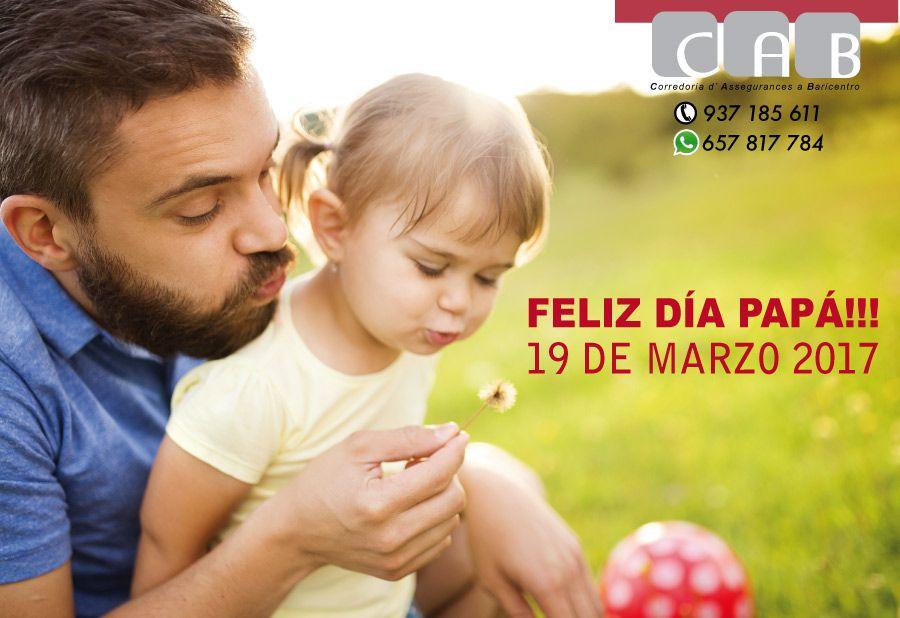 Desde CAB Corredoria Seguros Baricentro queremos hacer extensiva nuestras más sinceras felicitaciones a todos los padres. Día del padre.
