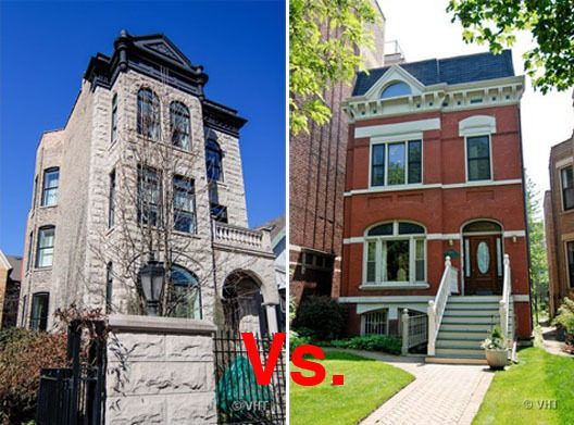 2 5m Face Off Stately Victorians Duke It Out In Lincoln Park Chicago Real Estate Victorian Townhouse Lincoln Park