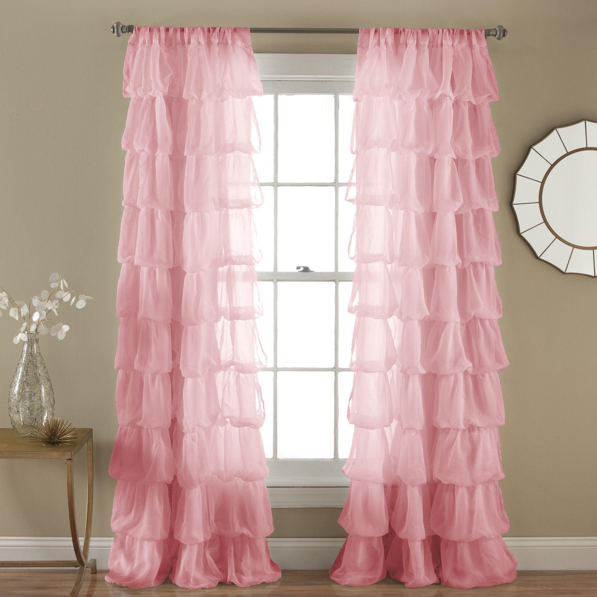 Olivia Window Single Curtain Panel