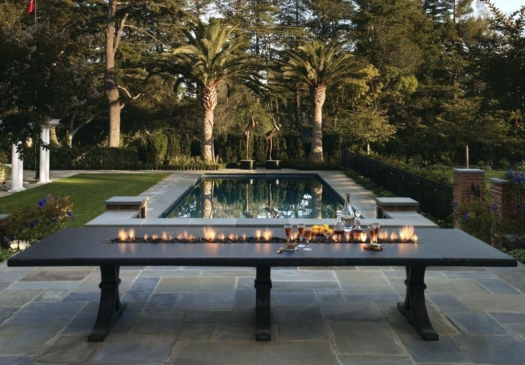 Outdoor Dining Table With Fire Pit Fire Pit Dining Table Long Decorative Ideas Stylish Outdoor With As Well Fire Table Fire Pit Table Outdoor Dining Table Diy