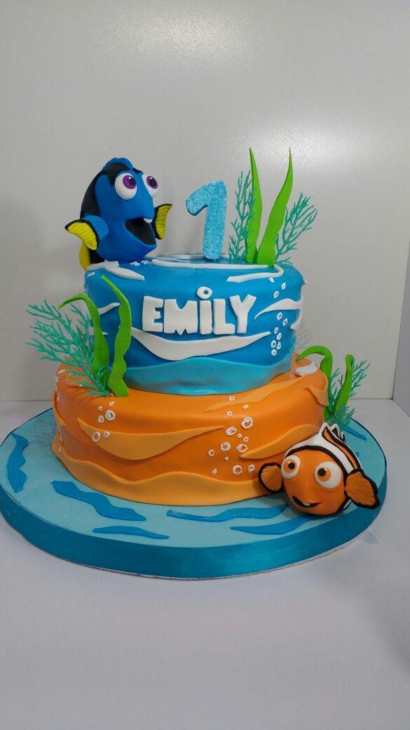 Cake Design Nemo : buscando a dory, nemo, tarta nemo, cake dory tortas ...