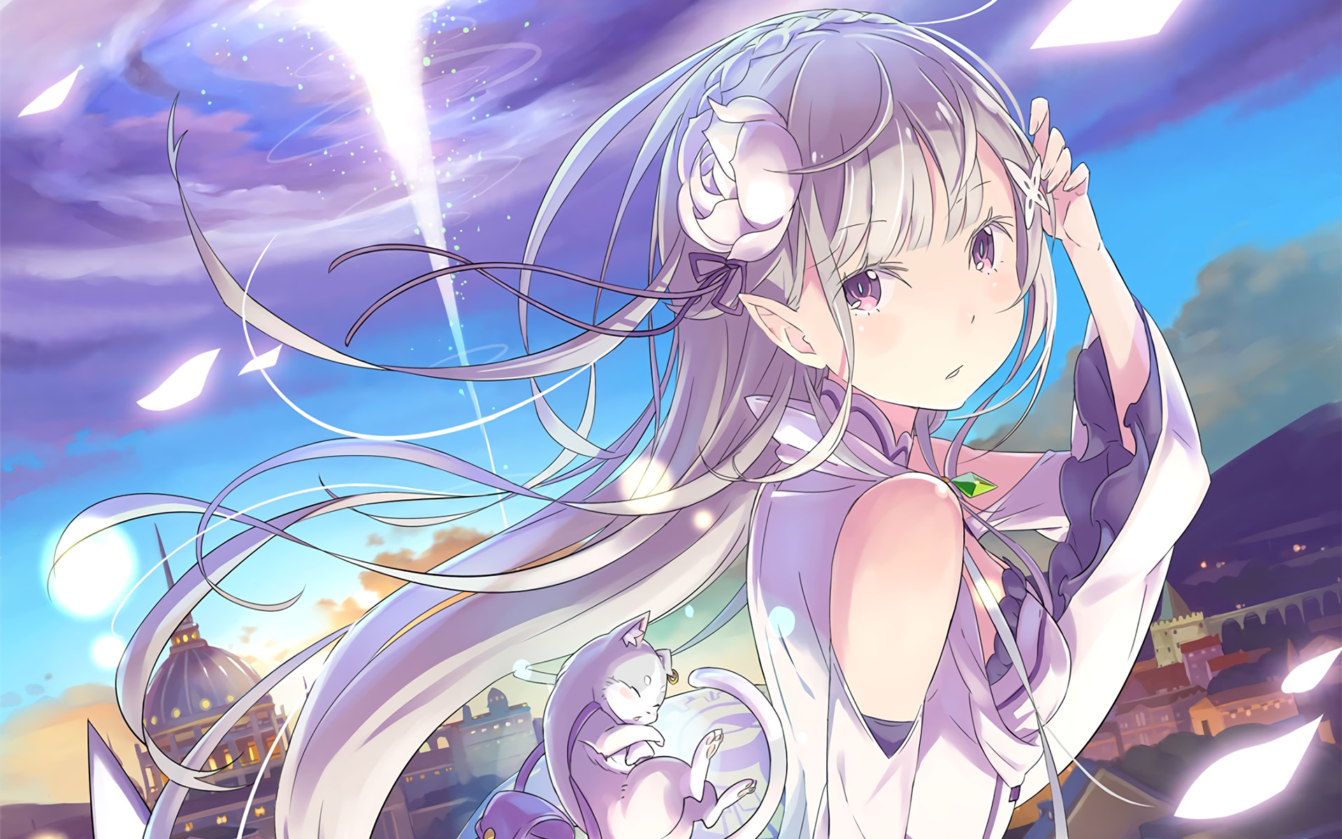 ReZERO Starting Life in Another World Anime wallpaper