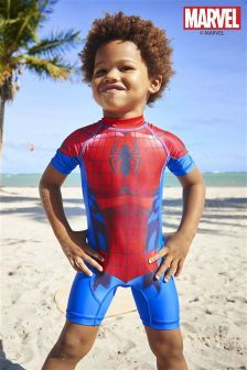d7df947843 Spider-Man™ Sunsafe Suit (3mths-6yrs) Toddler Swimming, Toddler Swimsuits