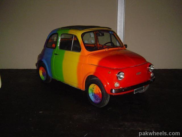 Fiat Garage Tiel : Fiat rainbow custom fiat fiat fiat and cars