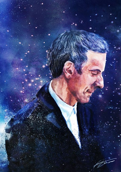 PETER CAPALDI FAN ART TO GO WITH THE OTHERS