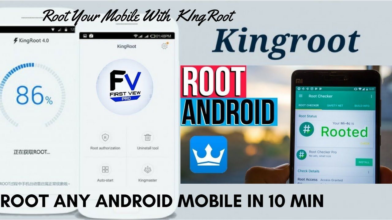 How to root any android mobile phone in 10 min with