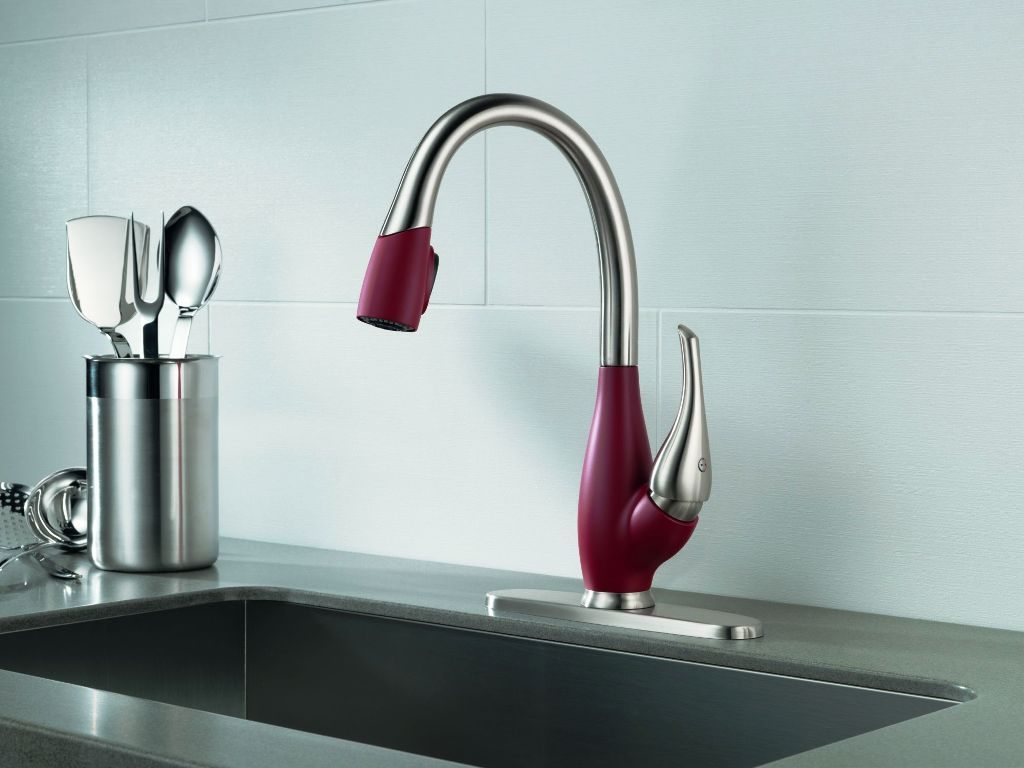 Amazing Awesome Grohe White Kitchen Faucet Kitchen Colors Best ...