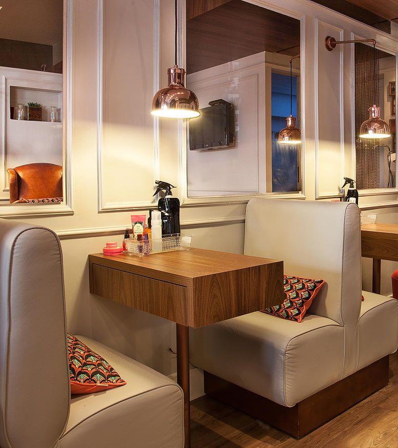 Mandril Nail Bar Pamplona Salon Diseño De Salón De