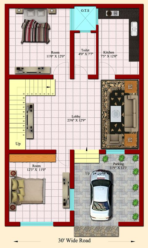 25x40 Home Design House Map Home Map Design My House Plans