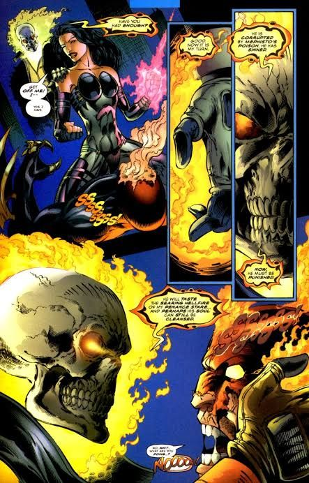 Boss mode =fire mode | Ghost rider marvel, Ghost rider, Ghost