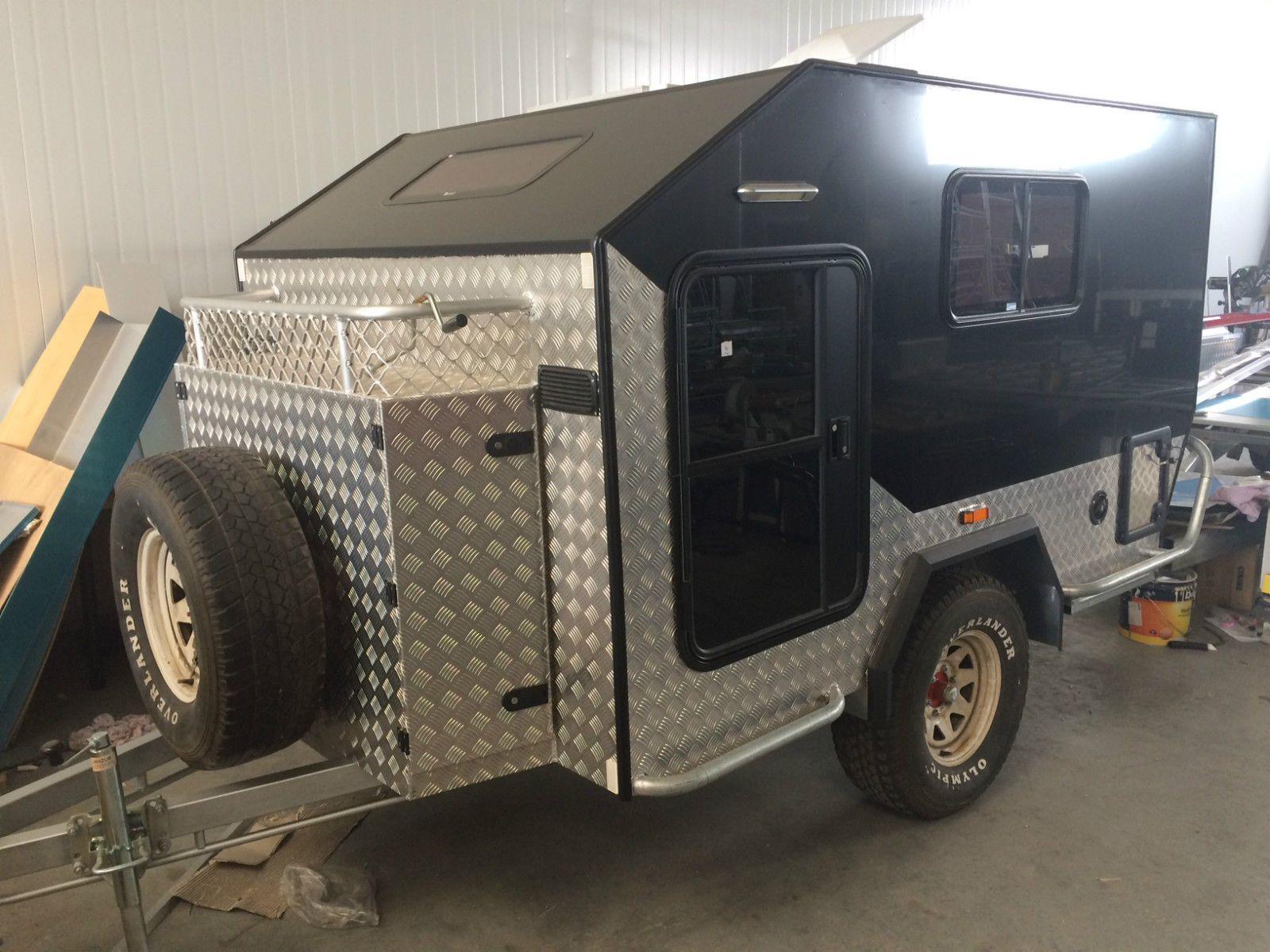 Offroad Camper Trailer Teardrop Camper Caravan in Lawnton