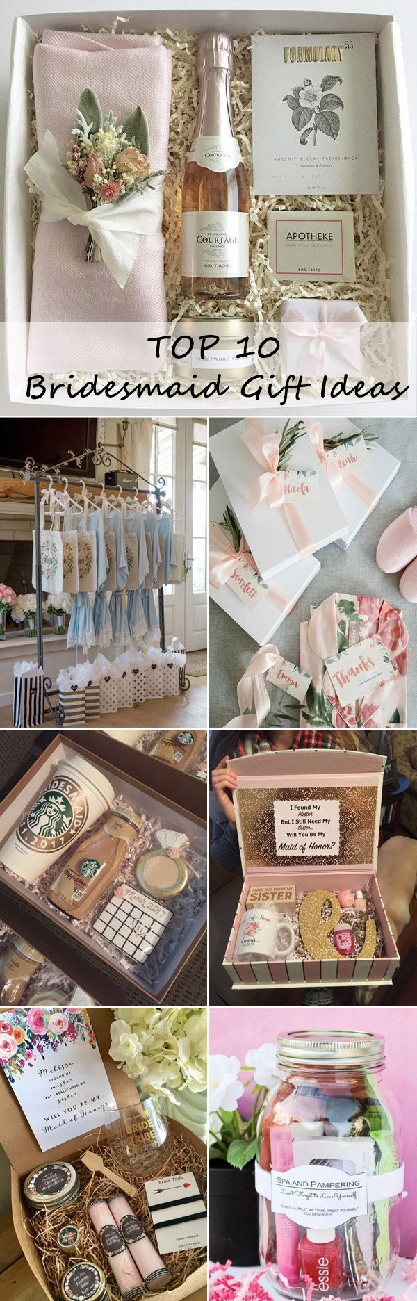 Bridal Parties Top 10 Bridesmaid Gift Ideas