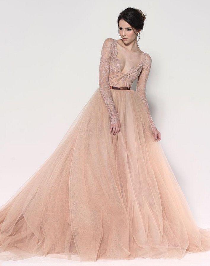c10d284fa7f Платье телесного цвета