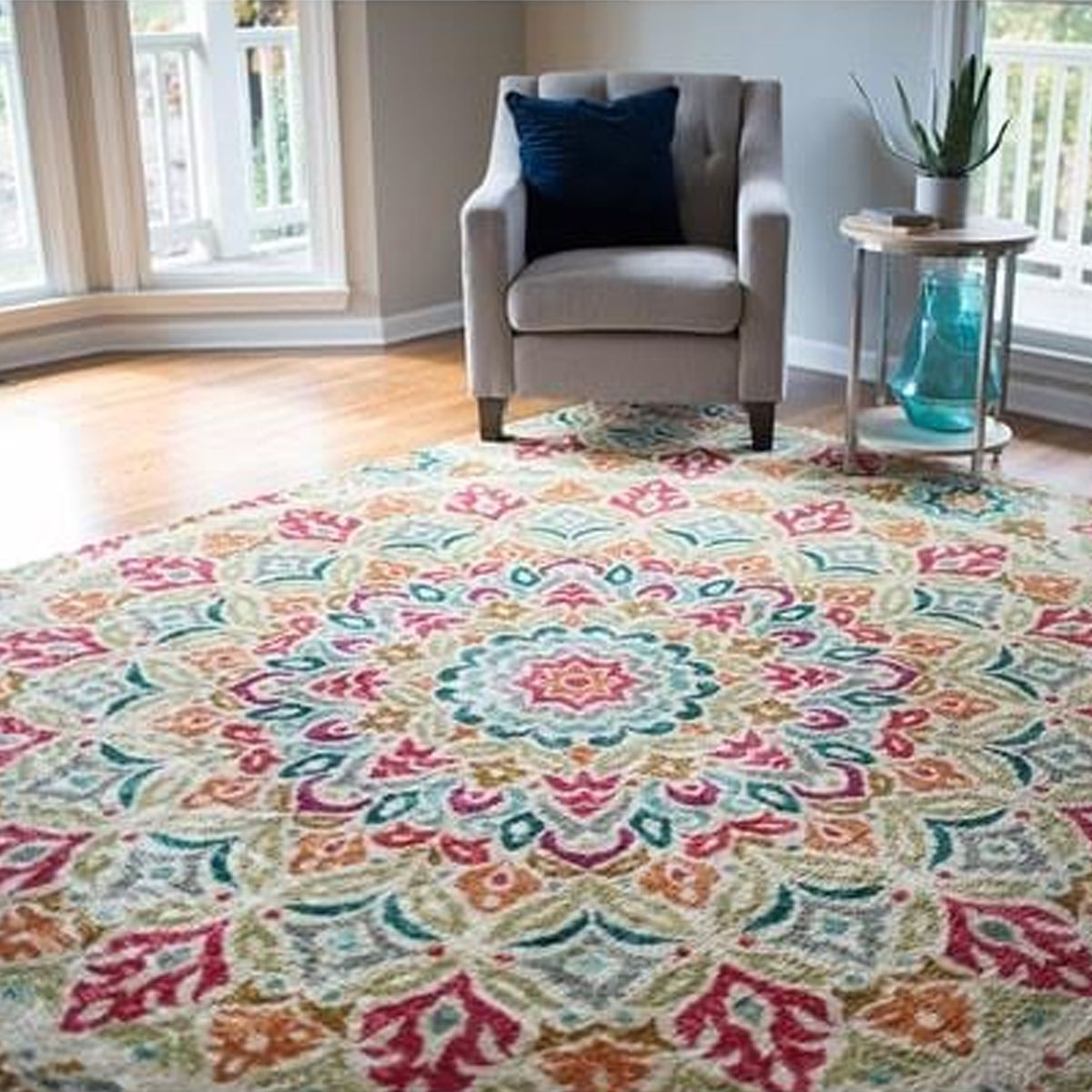 Mohawk Home Traditional Jewel Rug: Bright & Bold Rugs For A Stylish Space