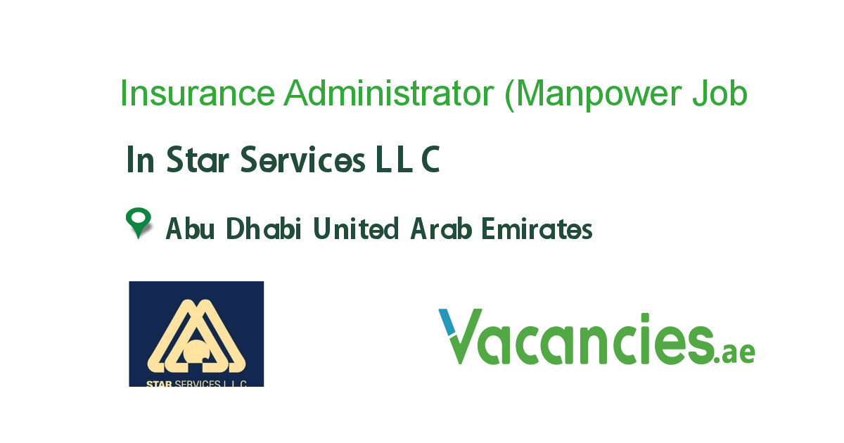 Insurance Administrator Manpower Supply Recruitment Co