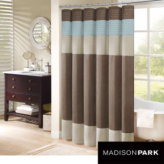 Madison Striped Shower Curtain