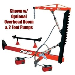 Champ 10 Ton Body Straightener With Swivel Post Repair Welding Projects Auto Body Repair