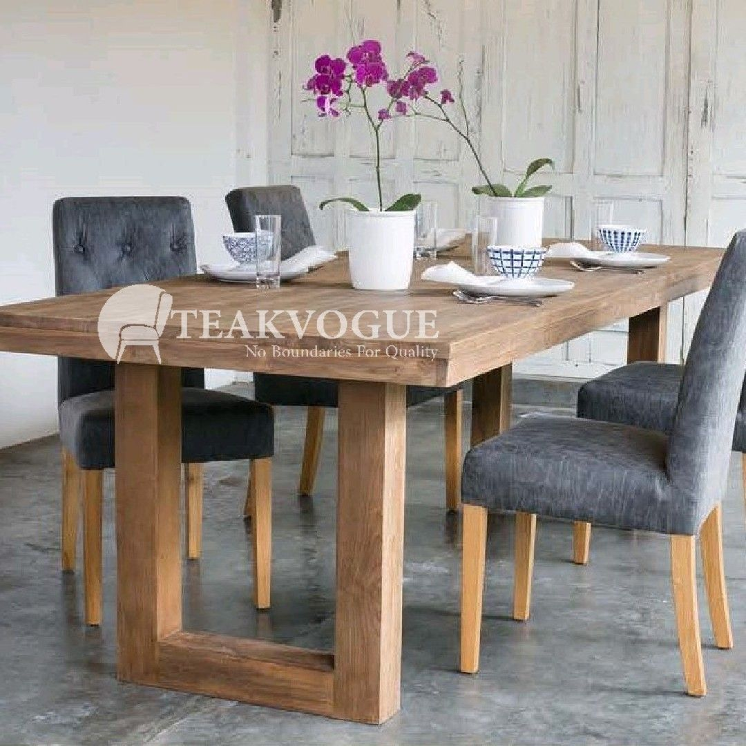 Lipica Solid Wood Dining Table 160 By Teakvogue A Grade