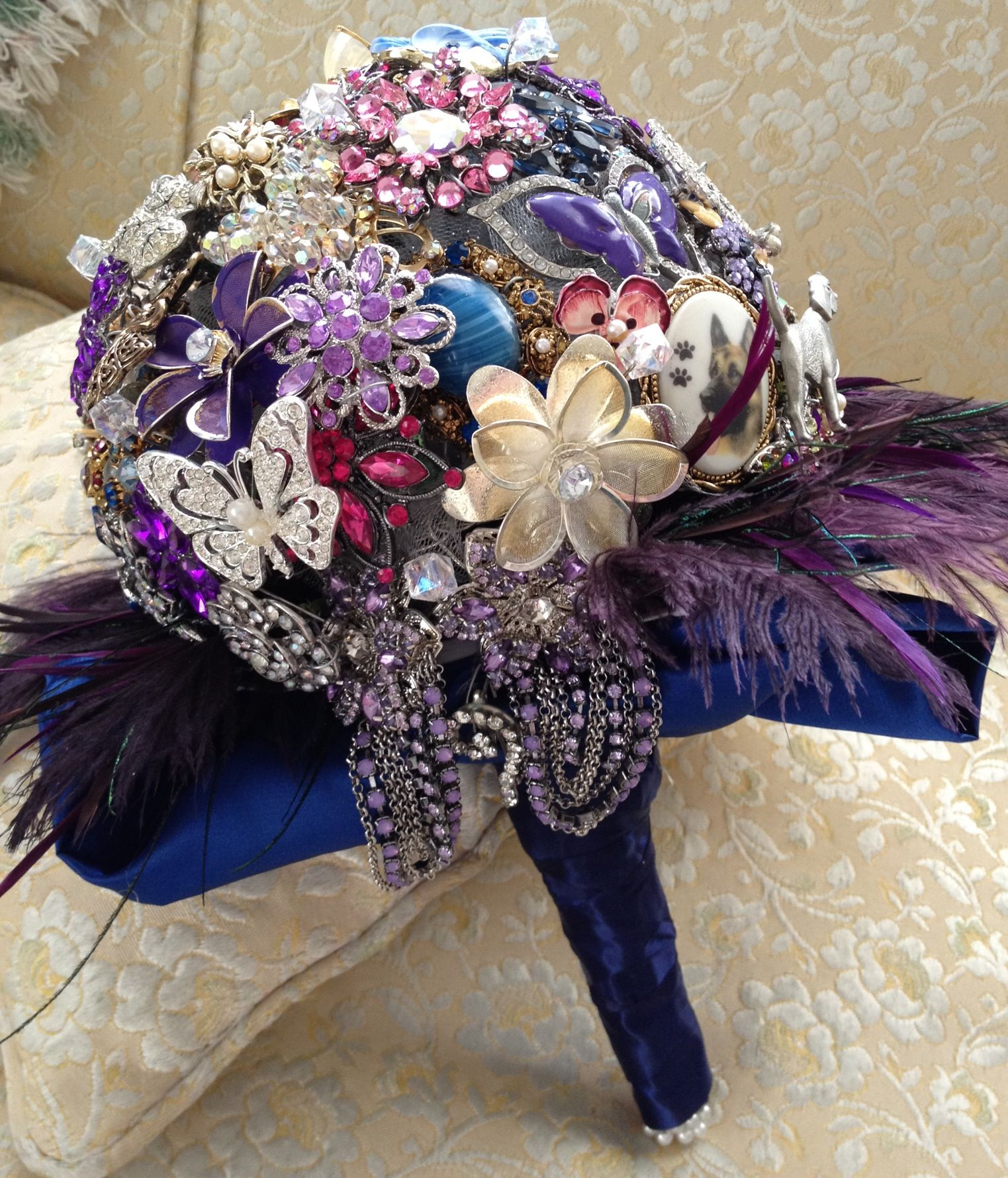 Bouquet For New Years Eve Wedding
