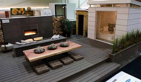 Roof Top Design outdoor deck- indoor nook   decks   pinterest   decking, deck