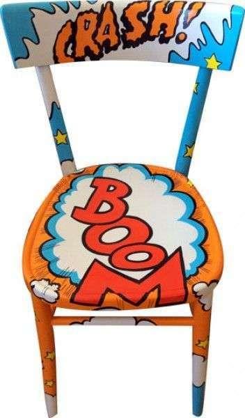 Come dipingere una sedia nel 2019 legno sedie dipinte for Decorare sedia legno
