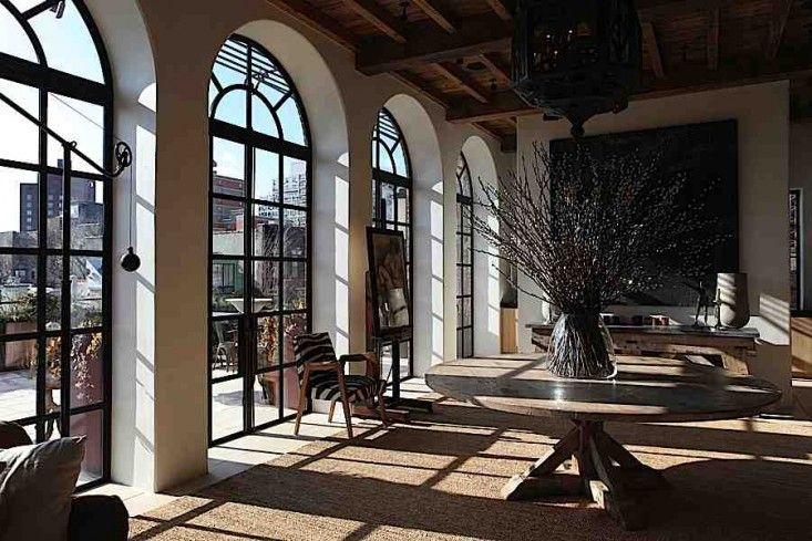 Photo of The Architect Is In: An East Village Penthouse Taken Back in Time – Remodelista