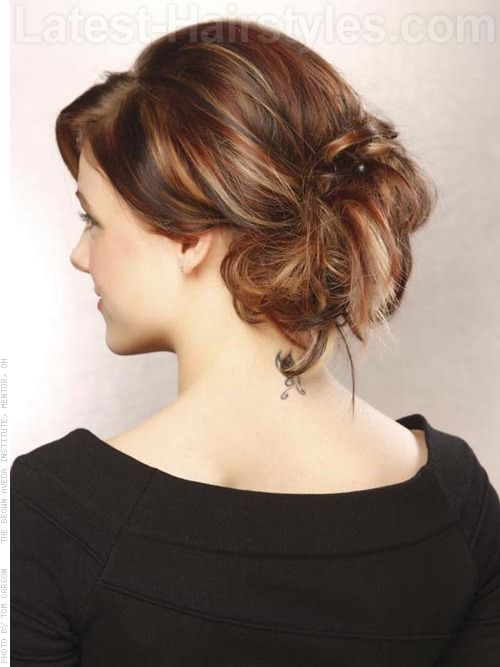 Multi Dimensional Haircolor With Highlights Back Color Hair Dos