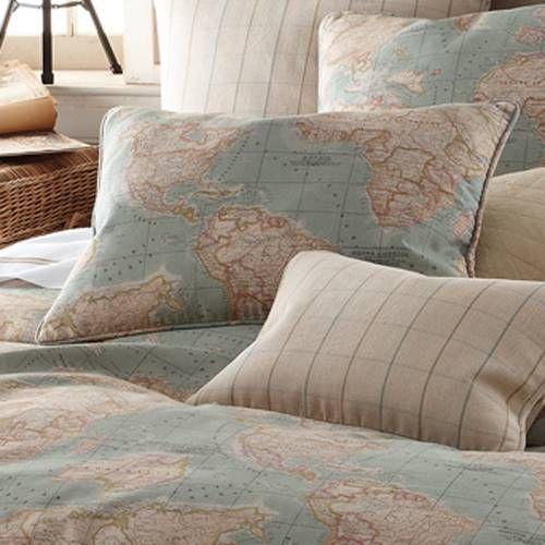 World map bedspread and pillows would be good to embroider stars world map bedspread and pillows would be good to embroider stars on citiescountries gumiabroncs Images
