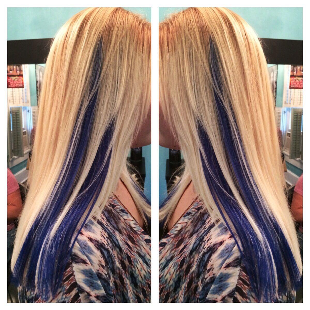 Platinum Blonde With Purple Underneath Google Search Hair