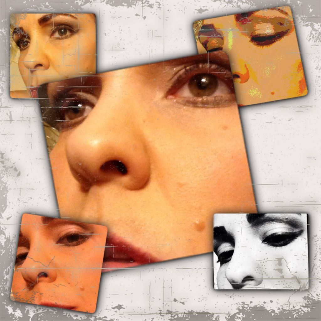 Fun with make-up! Putting Pinterest tutorials to good use!