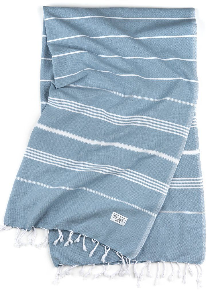 The Perfect Classic - Air Blue Turkish beach and bath towels by thebalimarket.us
