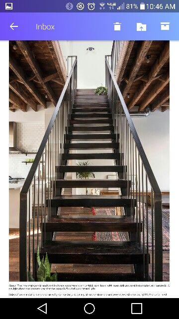 Escaliers Escalier en 2018 Pinterest Townhouse, Stairs et House - Avantage Inconvenient Maison Ossature Metallique