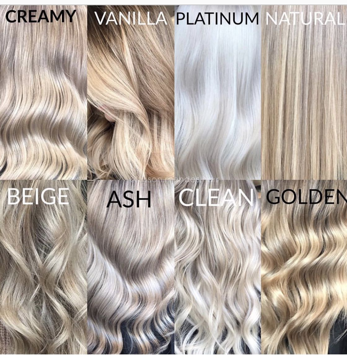 Blonde Color Terminology Pinterest Hair Blonde Color Blonde