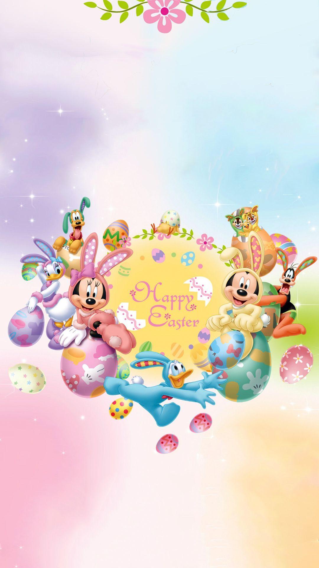 Disney Easter Iphone Wallpaper ディズニー 春 壁紙 ディズニー