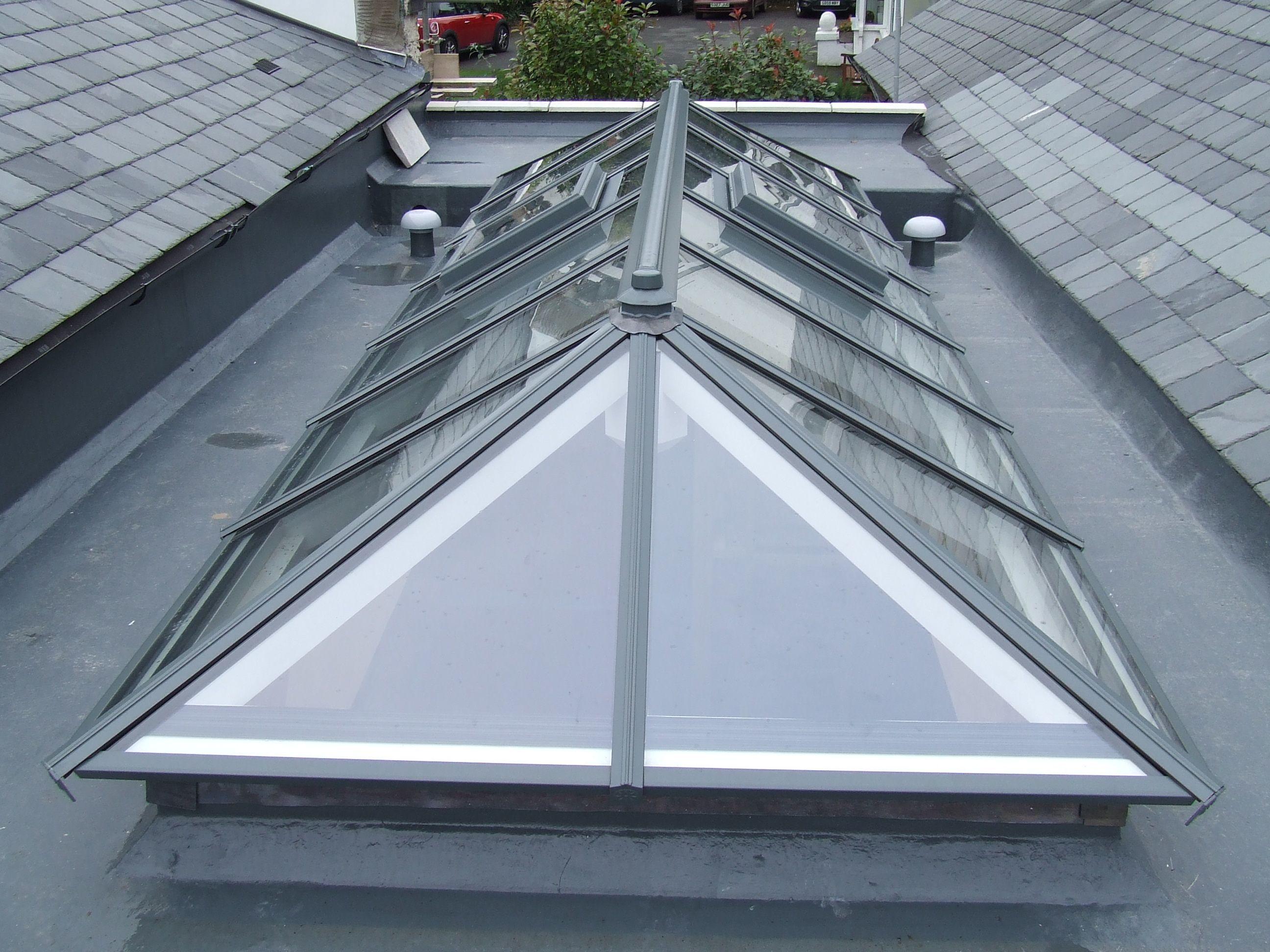 Double Glazed Roof Lanterns Roof Lantern Portico Design Skylight Design