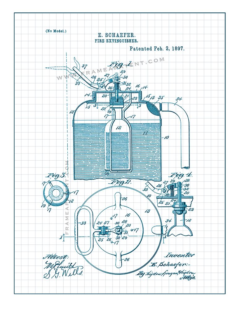 Pin by Frame a Patent on Fireman Patent Prints Patent