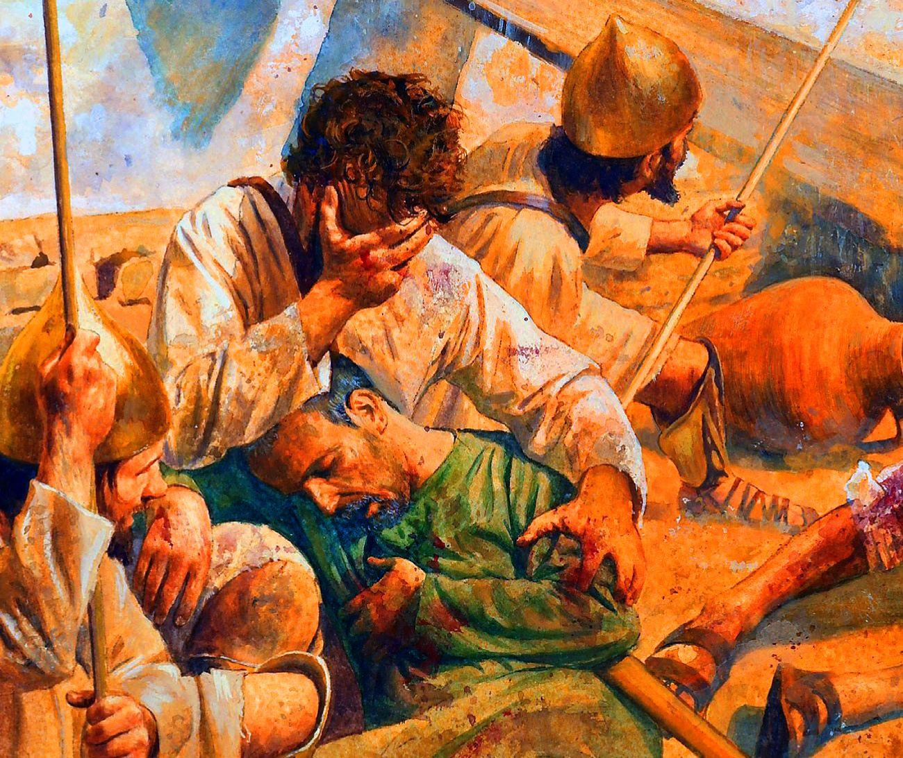 Carthaginian militias defending Carthage during the Punic War