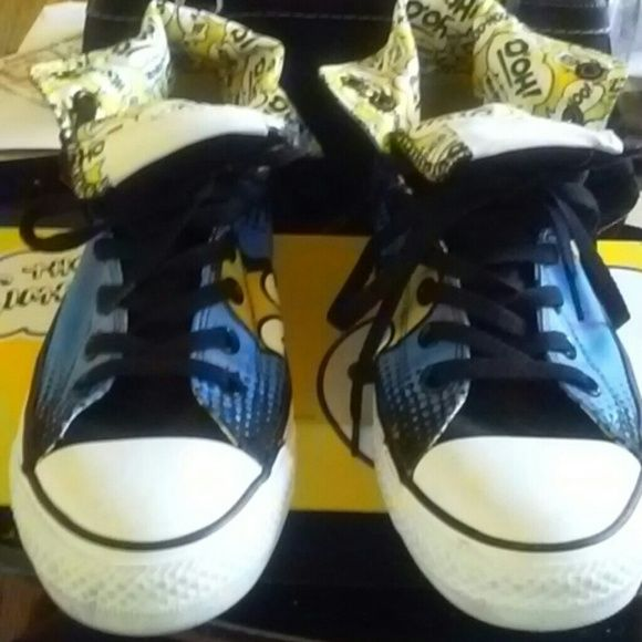 a8f3787cd8e4 Converse® Simpson Edition Homer Simpson Converse Mens size 8 Womens size 10  inside soles need