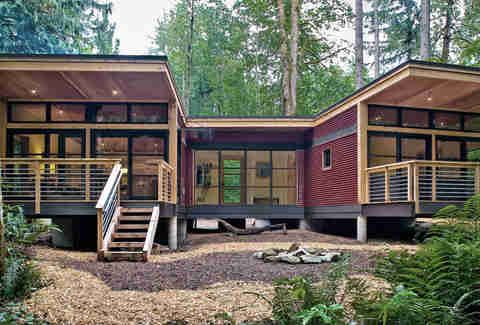 25 Gorgeous Prefab Houses And The Cheapest Land In Every State To Put Them On Prefab Modular Homes Prefab Homes Modern Prefab Homes